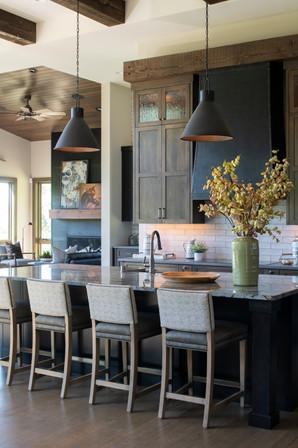 Modern Ranch Kitchen Island