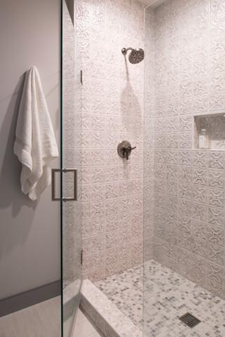 Modern Ranch Shower