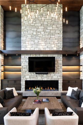 Bohns Point Custom Fireplace