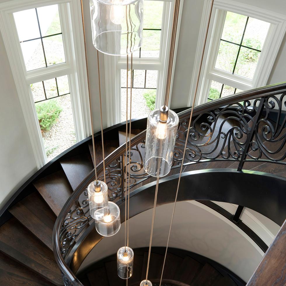 Spring Lake Estate - Spiral Staircase