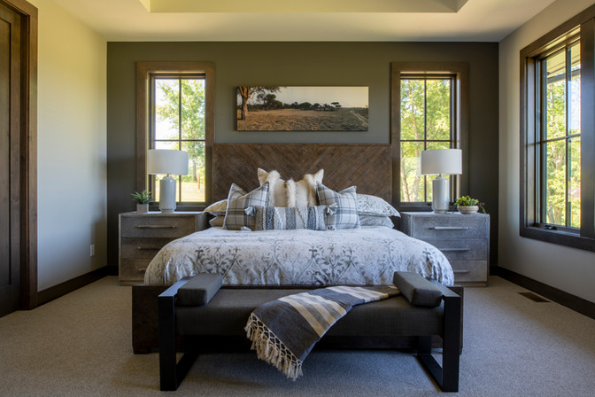 Modern Ranch Owner's Suite