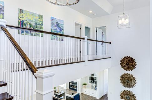 Open Rail Staircase