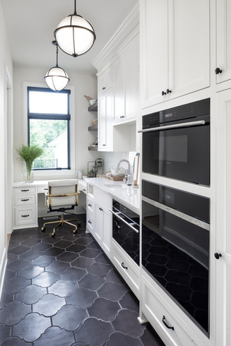 Modern Transitional - Prep kitchen
