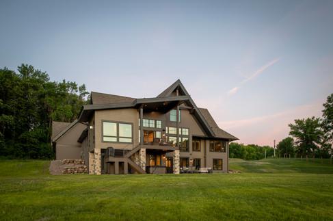 Modern Ranch Rear Exterior