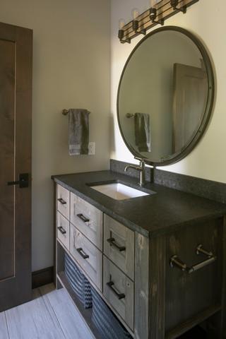 Modern Ranch Bathroom
