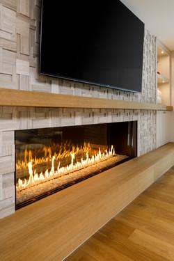 Sunfish Lane Linear Fireplace