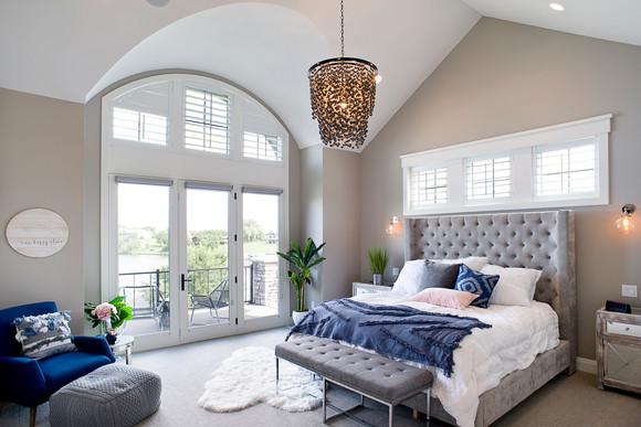Lake Madison Master Bedroom
