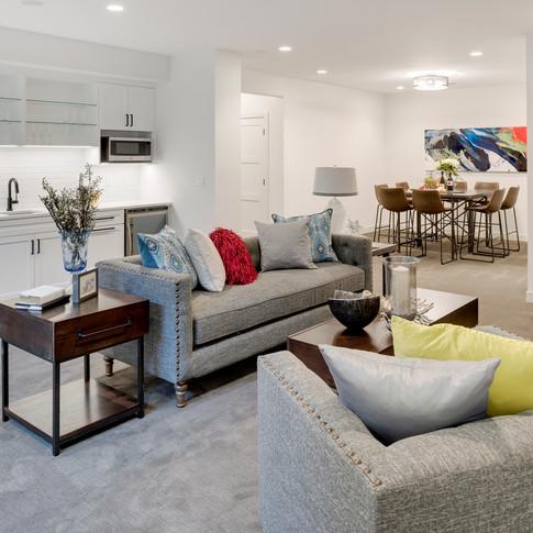 Alden Avenue - Lower Level Family Room