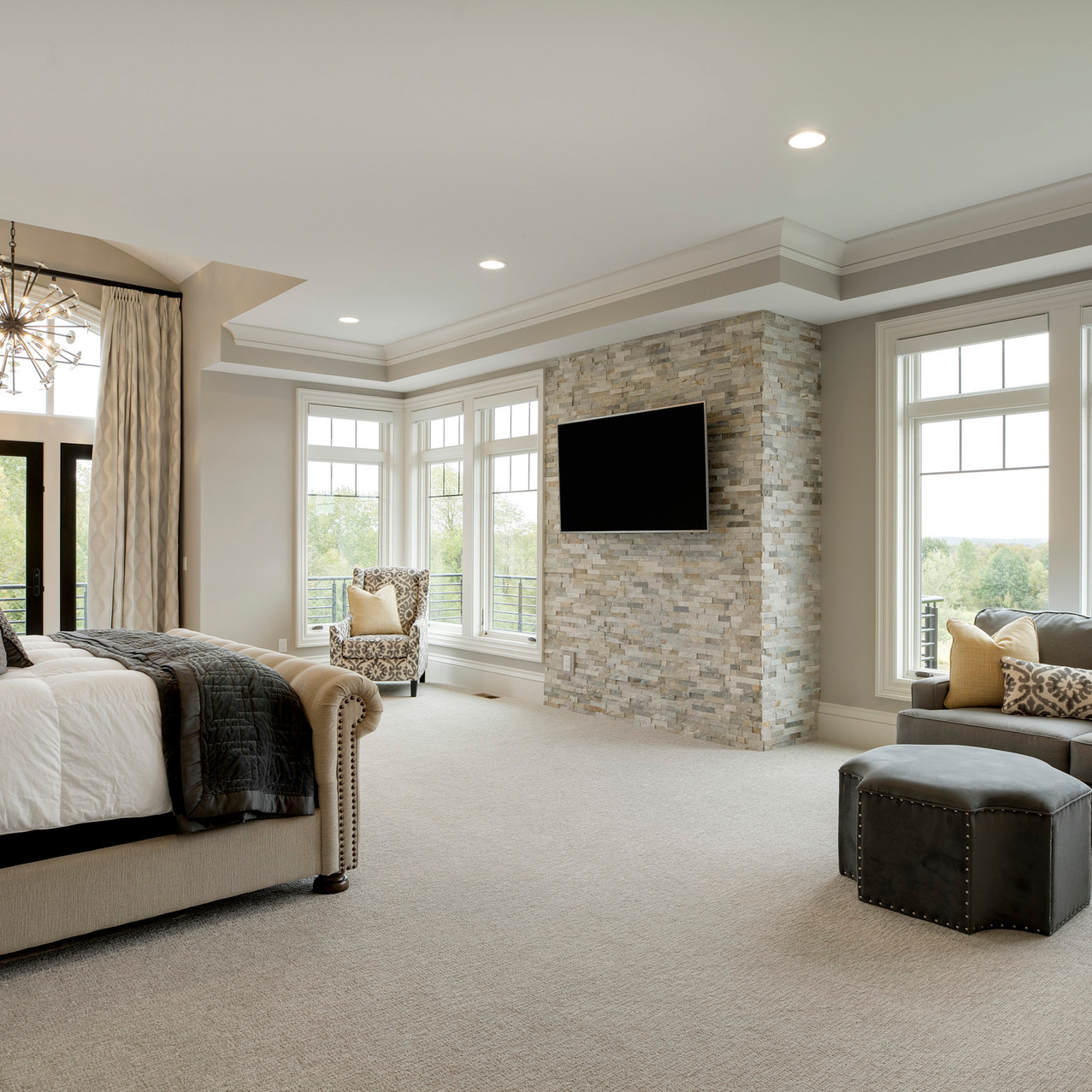 Spring Lake Estate - Master Bedroom
