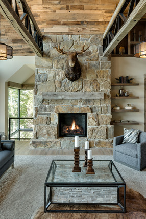 Orchard Circle - Great Room Fireplace