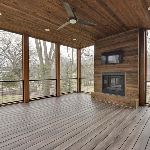 Alden Avenue - Screen Porch