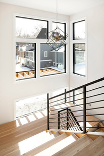 Austrian Pine - Staircase with windows
