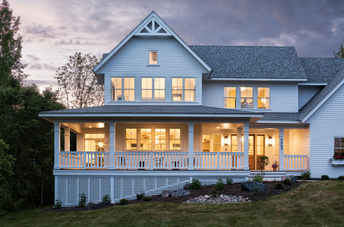Modern Transitional - Front Porch
