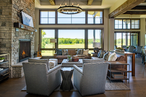 Modern Ranch Great Room 2