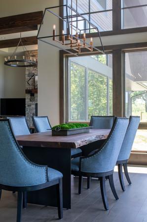 Modern Ranch Dining Room