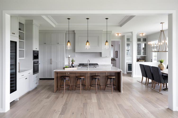 Glen Crest Alcove Kitchen