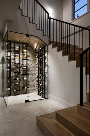 Staircase & Wine Room