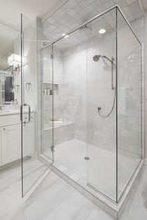Master Bath Glass Shower