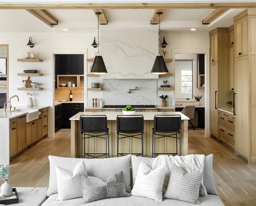 Kitchen From Greatroom