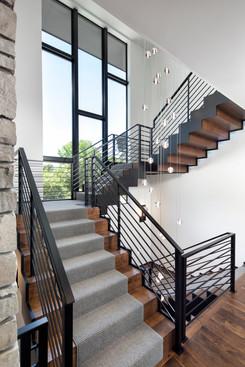 Bohns Point Stairs & Custom Windows