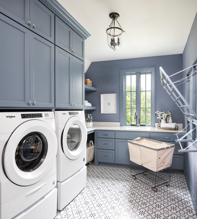 Modern Transitional - Laundry room