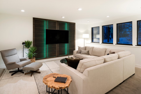 Peninsula Point - Lower Level Family Room