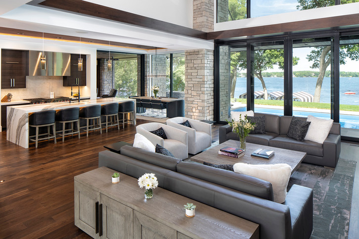 Bohns Point Great Room & Kitchen