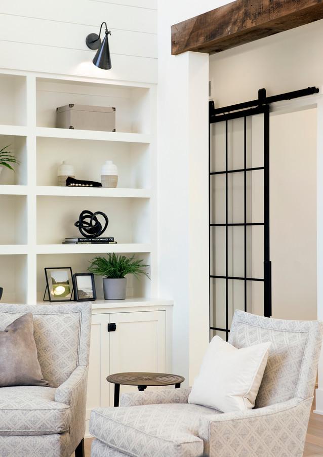 Great Room with sneak peek to Pocket Office