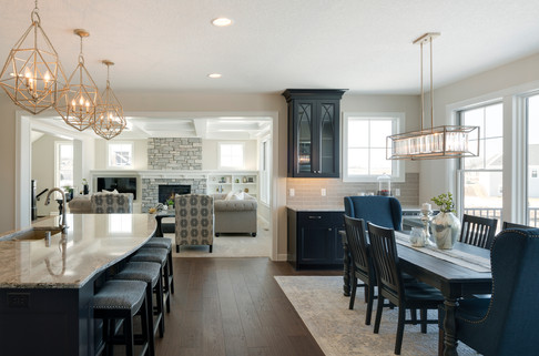 Sunflower Drive - Kitchen, Dining, & Great Room