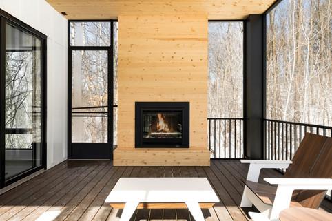 Austrian Pine - Sun Porch