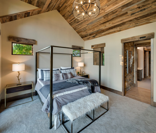 Orchard Circle - Vaulted Master Bedroom