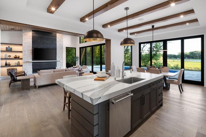 Kitchen to Greatroom