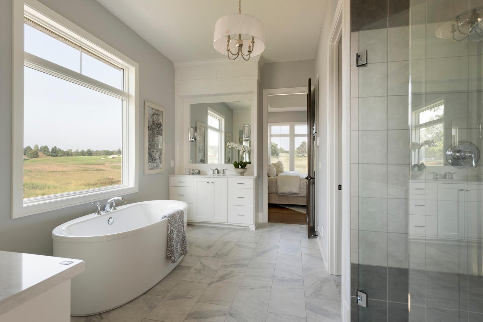 Royal Club Rambler Master Bathroom on log home bathroom designs, french country bathroom designs, split level bathroom designs, farm house bathroom designs, transitional bathroom designs,