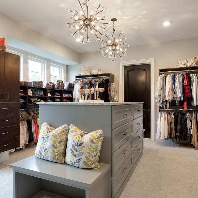 Spring Lake Estate - Master Closet