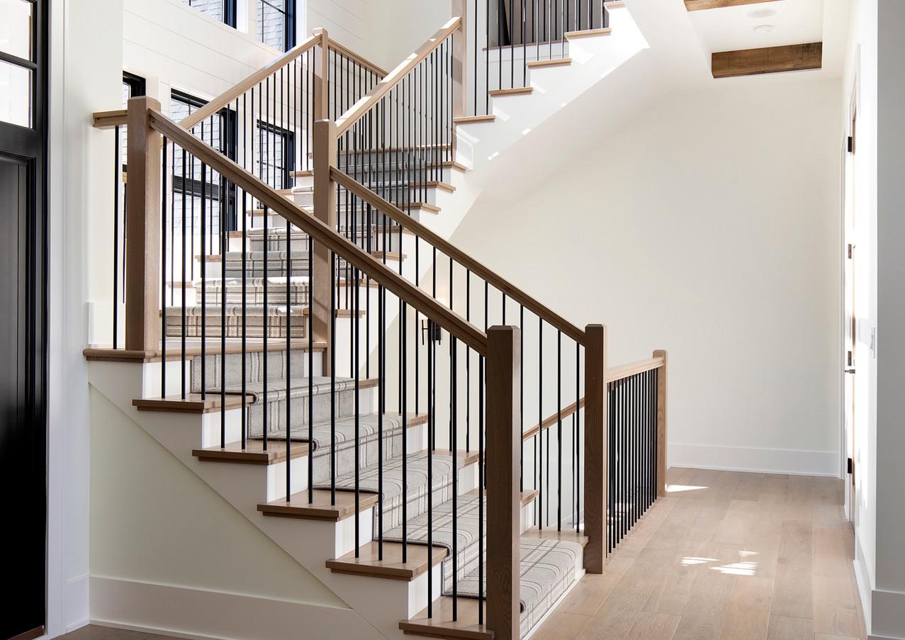 Wilde Lake Estates Staircase windows