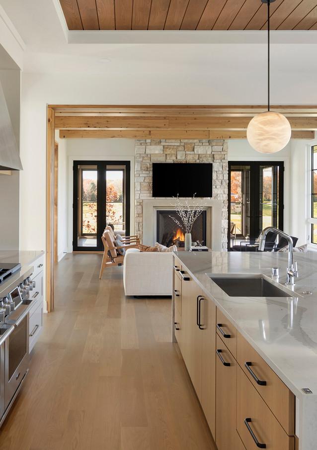 Deer Hill Road Kitchen & Great Room