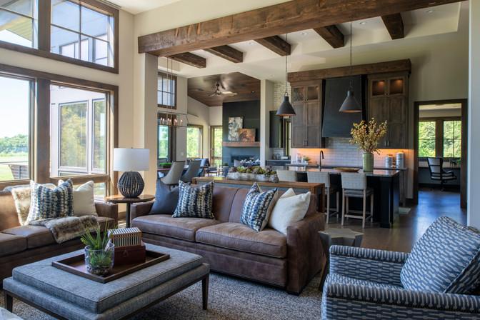 Modern Ranch Great Room