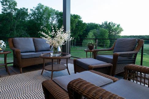 Modern Ranch Screen Porch