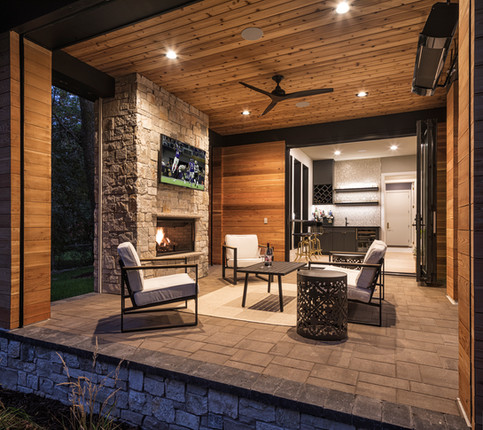 Spruce Road Screen Porch