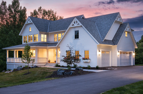 Modern Transitional - Front Exterior