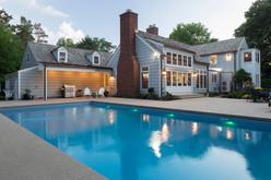 Poolside Exterior
