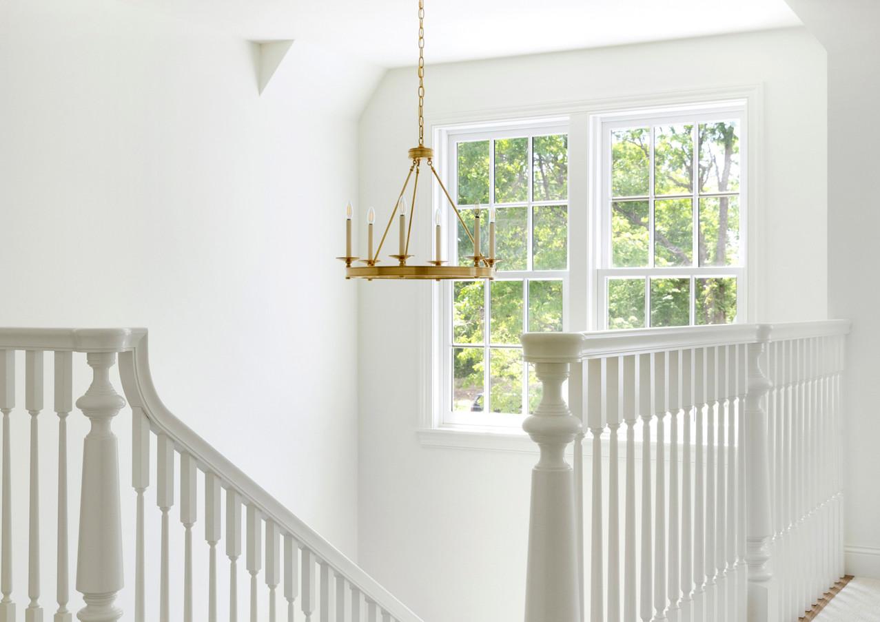 North Oaks Stair Windows