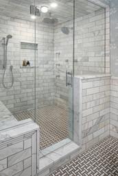 Owner's Bathroom Shower