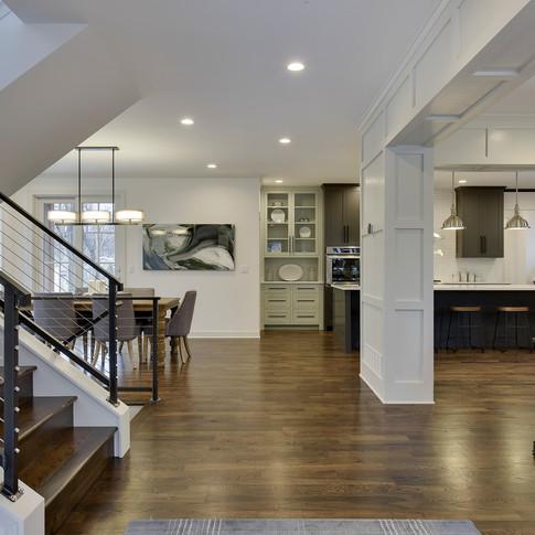 Alden Avenue - Foyer to Great Room & Kitchen