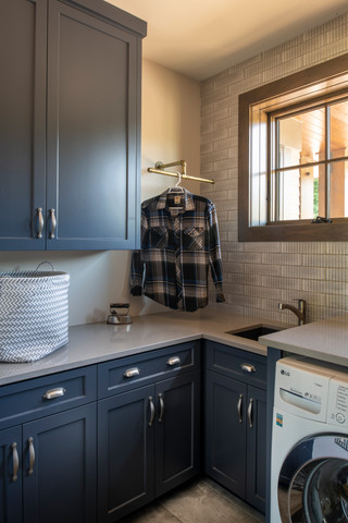 Modern Ranch Laundry