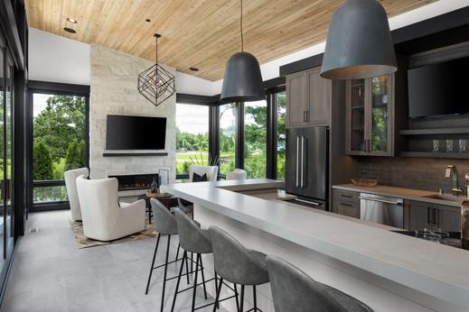 Hearth Room & Home Bar
