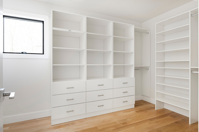Austrian Pine - Master Bedroom Closet