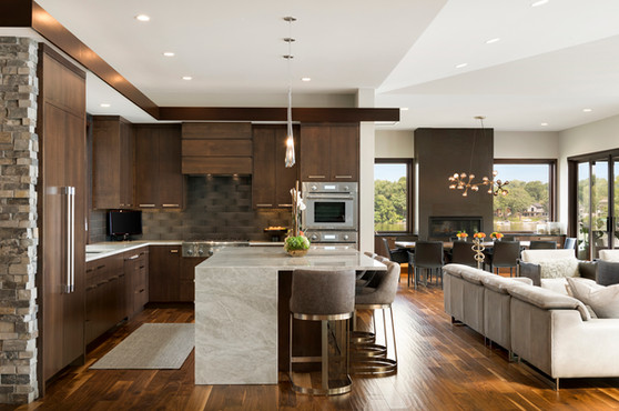 Kitchen, Great Room, Dining