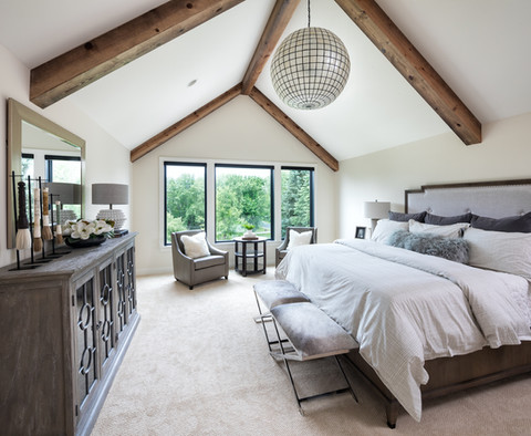 Modern Transitional - Master bedroom