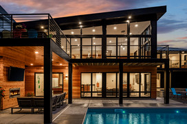 Walk out to outdoor living
